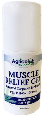 Muscle Relief Gel with Terpenes